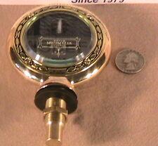 1928 1929 1930 1931 Model A Ford Ratrod Streetrod, Brass Senior Motometer Gauge