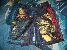 SEX PISTOLS AMERICA Band Dragonfly Swim Suit Surf Trunks Board Shorts Pants 32
