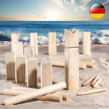 Spiel Wurfspiel Rasenschach Wikingerspiel Spielzeug Outdoor Schach Holz NEU