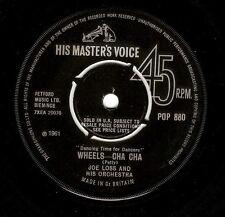 JOE LOSS Wheels - Cha Cha Vinyl Record 7 Inch HMV POP 880 1961