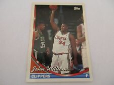 Carte NBA TOPPS 1993-94 #127 John Williams Los Angeles Clippers