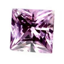 WOW! Certified 0.50ct Natural Unheated Pink Sapphire Princess Cut 4.1mm VS Gem