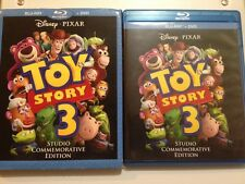 Toy Story 3 Studio Commemorative Edition (Blu-ray Disc, 2010, 2-Disc Set)
