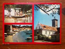 TERRE DE HAUT DES SAINTES GUADELOUPE multivues CARRIBEAN SEA  1979  postcard