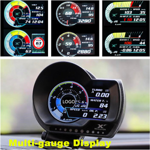 Digital OBD2 OBD II Boost Gauge/Multi-gauge/Temperature Monitor/Warning System