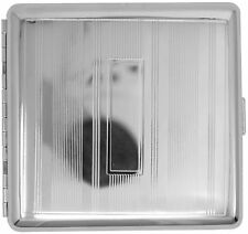 Silver Plate (Full Pack Kings) Metal-Plated Cigarette Case & Stash Box