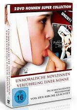 MONACHE BOX Uncut LA NOVIZIA Seduzione uno Nonne NOVIZI IMMORALI 2 DVD