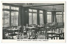 Devon - Torquay, Part of Dining Room, Astwell Hall RP PPC, Unposted