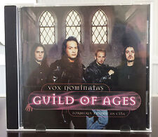 CD Guild of Ages (ex cita) - VOX dominatas (melodic AOR AXE Bobby Barth MTM)
