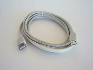 10 Foot A Male to A Female USB 2.0 Extension Cables (Ivory)
