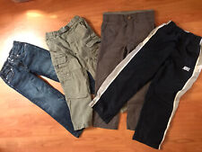 Lot Of 4 Pants 7 For All Man Kind Lands End Nike Carters Size 6 Toddler Kids