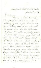 1864, 2nd Vermont Surgeon, Edwin Brush, letter home re: Battle of Cold Harbor