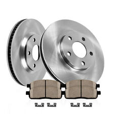 Front Rotors & Ceramic Pads For 2010- 2012 Ford Escape 2010 2011 Mercury Mariner