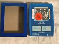 QUAD 4 channel RUFUS 8 Track Cassette Tape RUFUSIZED Quadraphonic Q8 CHAKA KAHN