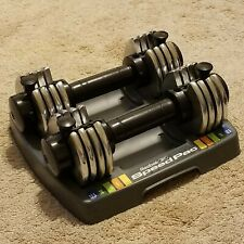 Reebok Speed Pac SpeedPac Dumbbell Set Of Two 25 Pound Total Adjustable Weights