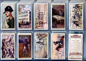 Napoleon 25 Carte Cigarette Carte Set John Lecteur Repro