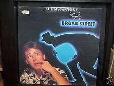 "PAUL McCARTNEY ""GIVE MY REGARDS TO BROAD STREET"" LP REC"