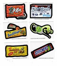 (2) 2013 Wacky Packages Halloween ButcherFingers & Stitchers Postcard Bio Cards