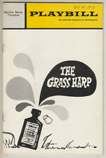 "Barbara Cook ""The Grass Harp"" Playbill 1971  Truman Capote"