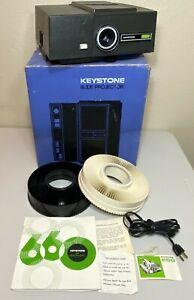Vintage Keystone 35MM Slide Projector 660 - TESTED & WORKING