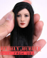 """1/6 Asian Female Beauty Head Sculpt For 12"""" Phicen Hot Toys SHIP FROM USA"""