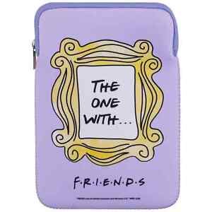 """Friends TV Series 'The One With' Lilac 10"""" Tablet Case Official Licensed Product"""