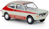 BREKINA 22510 - Fiat 127 ''Abart'' bianca con bande rosse scala H0 1/87