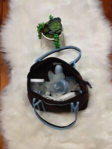 8 Levels Electric DUAL Breast MINI Pump Comfort Breastfeeding w/bag -Portable