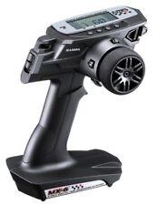 Sanwa MX-6 DRY 3-Kanal, 2.4GHz FH-E Fernsteuerung mit 2x RX-391W(waterproof Empf