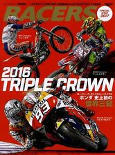 RACERS Special Issue 2017 Japanese book 2016 Triple Crown HONDA magazine