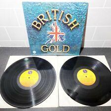"British Gold - 20 Original Hits 12"" Vinyl LP Record - R224095 - 1978 - Various"