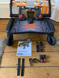 LASCAL BUGGY BOARD MAXI with uncut connectors and strap - good condition