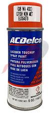 Genuine Gm Acdelco Hot Wheels Crush Orange Paint 5oz Spray Wa413c G16