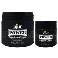 pjur POWER Cream ANAL lubricant * Creamy consistency * Water Silicone based *