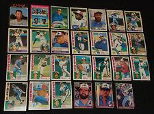 1971 to 1985 - O-PEE-CHEE /DONRUSS - MONTREAL EXPOS - BASEBALL CARDS LOT (27)
