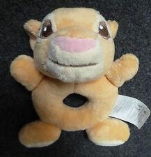 """DISNEY Store Re Leone Simba Marrone Baby Hand Held sonaglio giocattolo morbido 6"""" """"Tall Carino"""