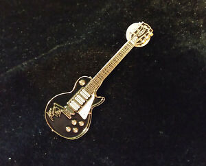 Kiss Ace frehley Black Gibson Guitar Pin