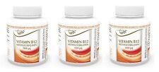 Vita World 3er Pack Vitamin B12 Methylcobalamin 100mcg 3 x 180 Tabletten