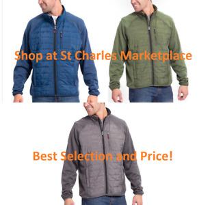 Orvis Men's Mixed Media Snow Bird Hybrid Jacket, Choose Size & Color, NEW w/ TAG