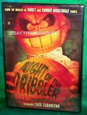 BRAND NEW RARE OOP CODE RED  NIGHT OF THE DRIBBLER HORROR COMEDY MOVIE DVD 1995