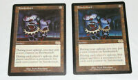 2x Smokestack Artifact Urza's Saga Magic the Gathering MTG (NM & EX)