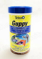 75g Tetra Guppy Fish Food Guppies Health Color Growth Aquarium Mini Flakes 250ml