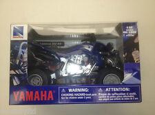 Newray Yamaha YFZ Raptor 450R Quad 1:12 escala azul de metal & modelos plástico