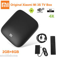 Original Xiaomi Mi 3S TV Box 4K 64bit Android 6.0 Media Player 2GB+8GB