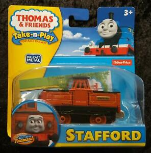 2012 THOMAS & FRIENDS Fisher-Price TAKE-n-PLAY STAFFORD - NEW in BLISTER PACK
