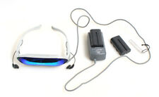 GEN1 SONY GLASTRON PLM-A35 IRIDIUM HEADSET PERSONAL HOME THEATER