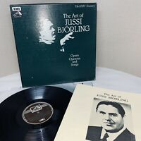 The Art of JUSSI BJORLING Opera/Operetta and Songs 3 LP BOX EMI RLS 715 M077