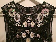 NEEDLE & THREAD Beautiful sequined evening dress Size 8