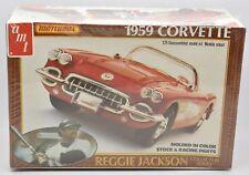 1959 Corvette Reggie Jackson Matchbox Brand New Sealed Model Kit AMT 1:25 1981