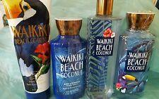 BATH AND BODY WORKS WAIKIKI BEACH COCONUT COLLECTION